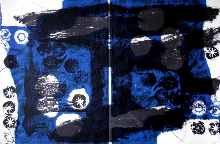 Antoni Clavé -Trobadors II  litografia