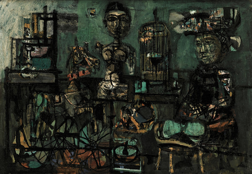 Antoni Clave -interiors