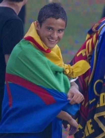 Afellay-Barça -berber-amazic 2011