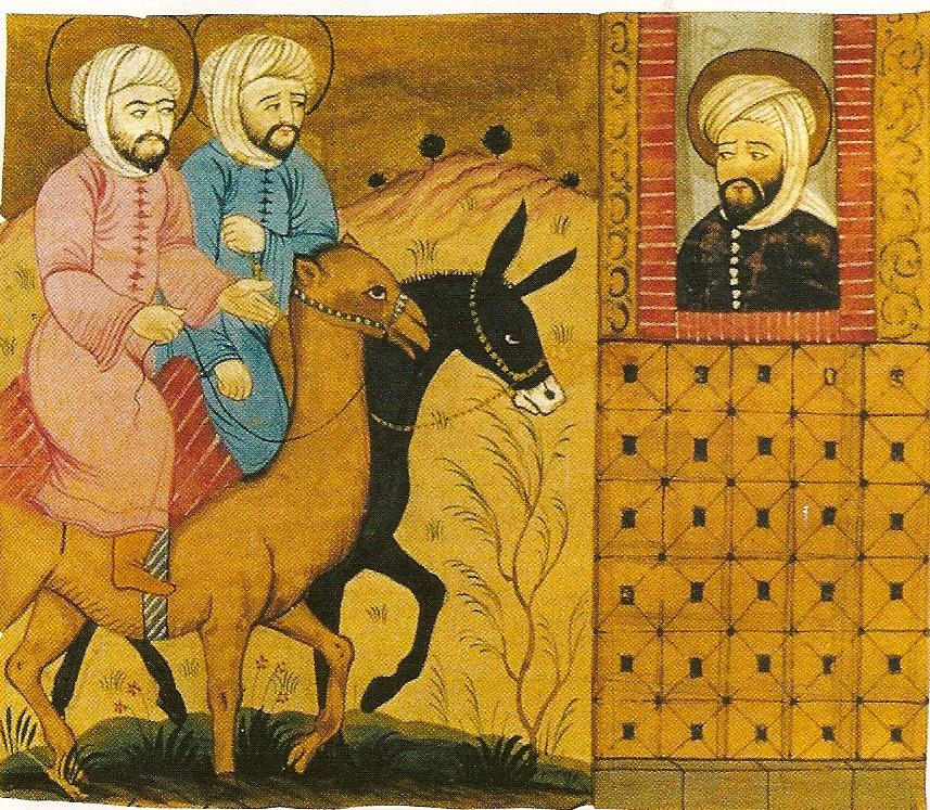Miniatura persa de una obra de Biruni s.XVII Teheran