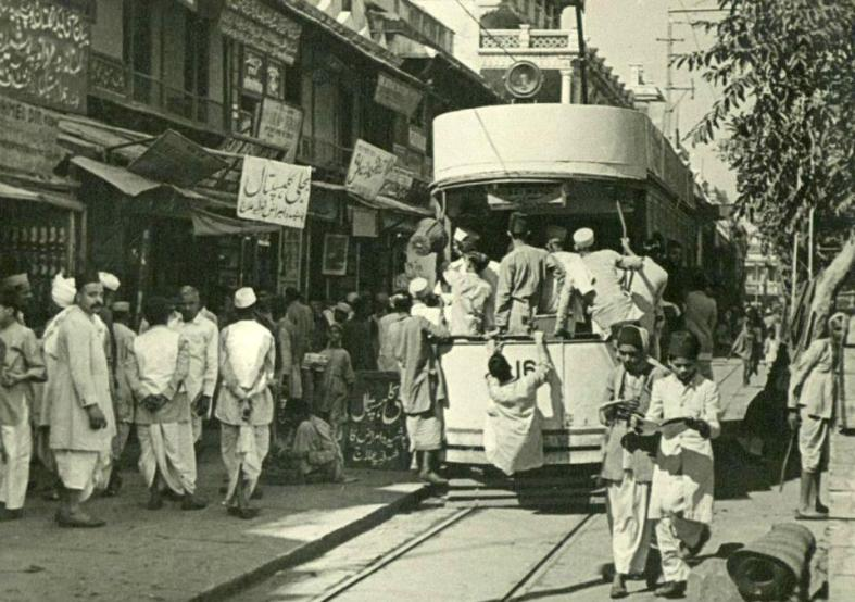Nueva Delhi circa 1950