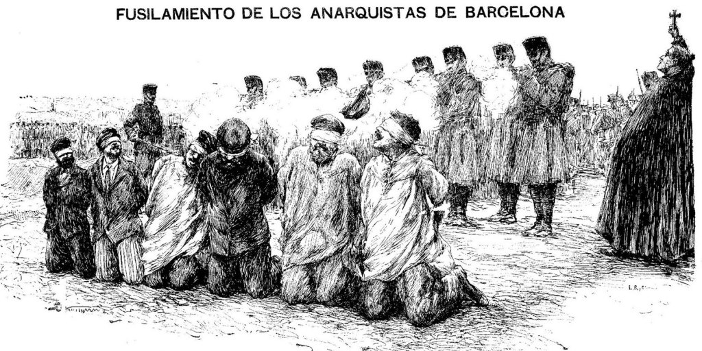 Afusellats a Montjuic