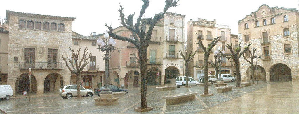 PLaça Major -Montblanch