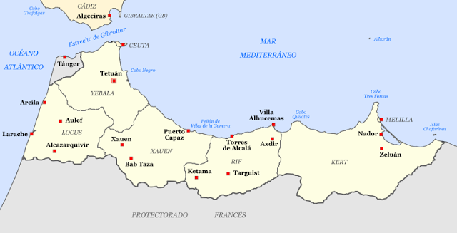 Morocco spanish protectorate