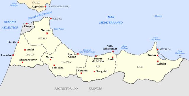 Morocco spanish protectorate