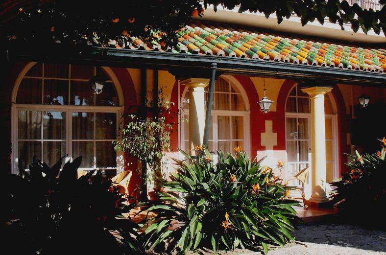 Terraza del Hotel Reina Cristina