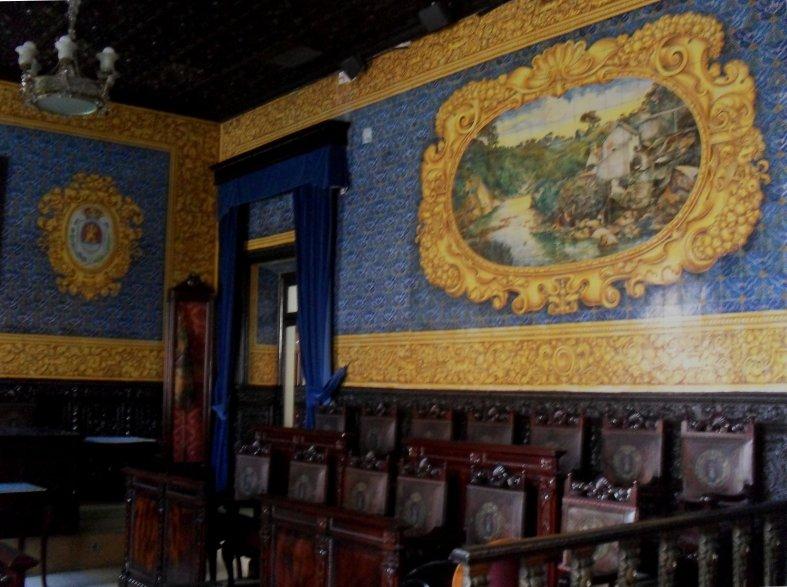 Salón de plenos en el Ayuntamiento de Algeciras  -Detalle