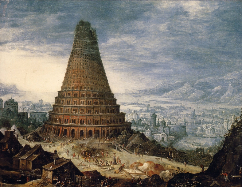 Tower of Babel  -Unknown flemish master