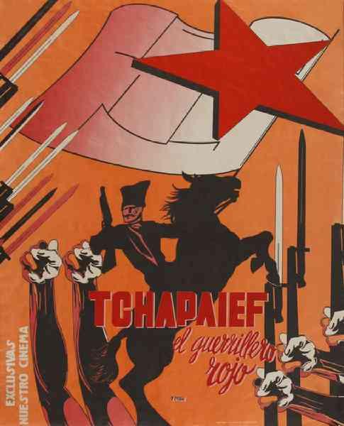Renau -Tchapaief, el guerrillero rojo