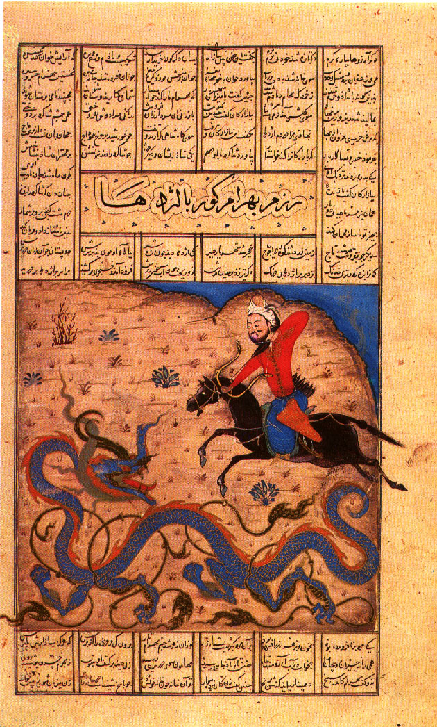 Shah nama -Sarai album Tabriz -Segona meitat s. XIV Topkapi