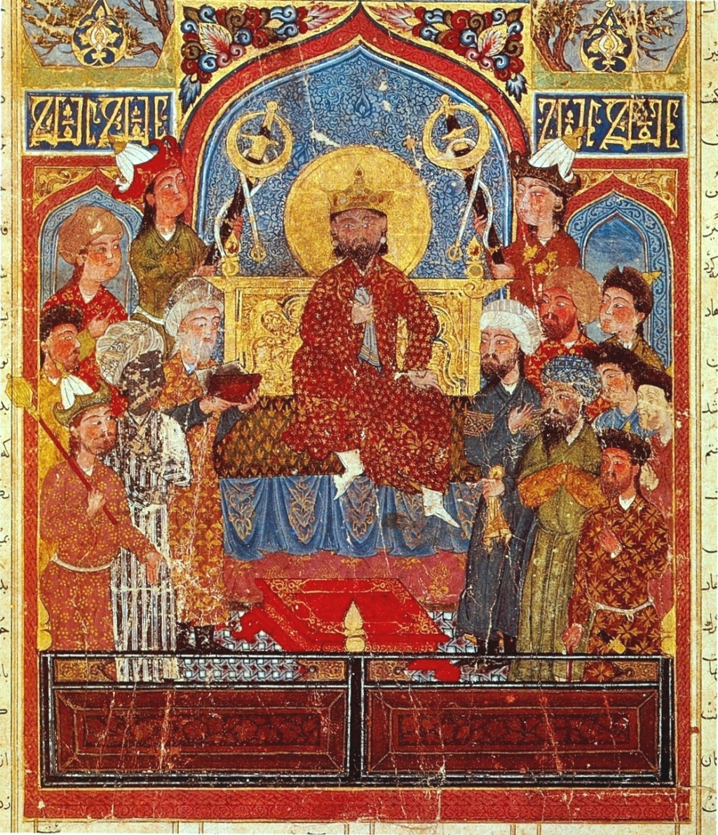 Shahname -Il.lustració del Shahnameh Demotte, Museu del Louvre