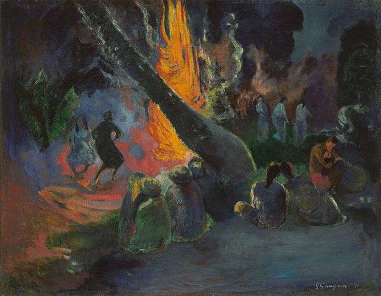 Gauguin -Upa Upa 1891