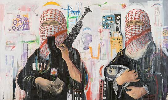 Oussama Diab, Mona Lisa, 2009