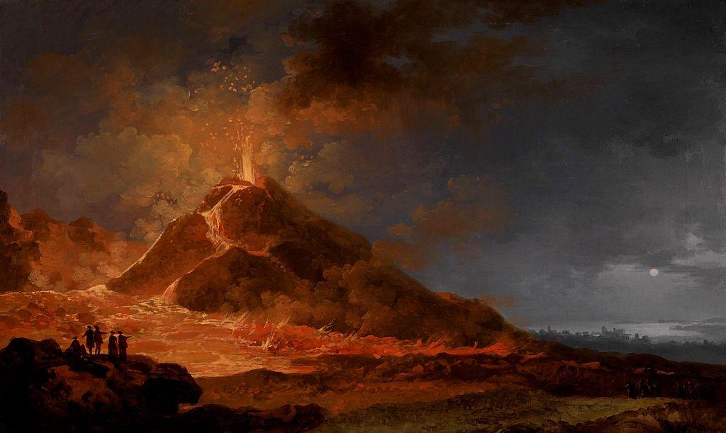 Pierre-Jacques Volaire -L'Éruption du Vésuve, le 14 mai 1771