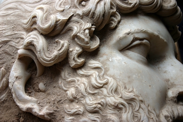 Bust d'Adrià detall