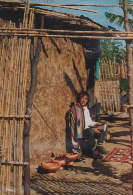 Joan Vernet a Wadi Lau