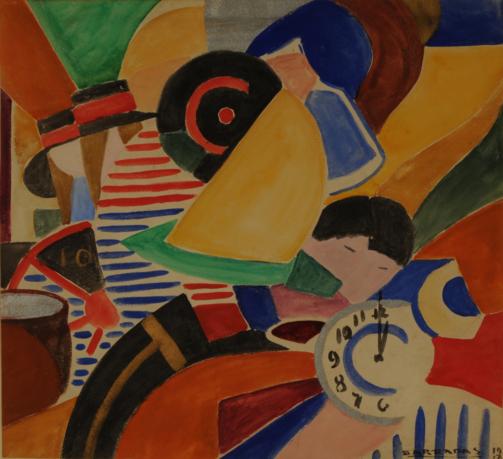 Rafael Barradas -Composición vibracionista 1917