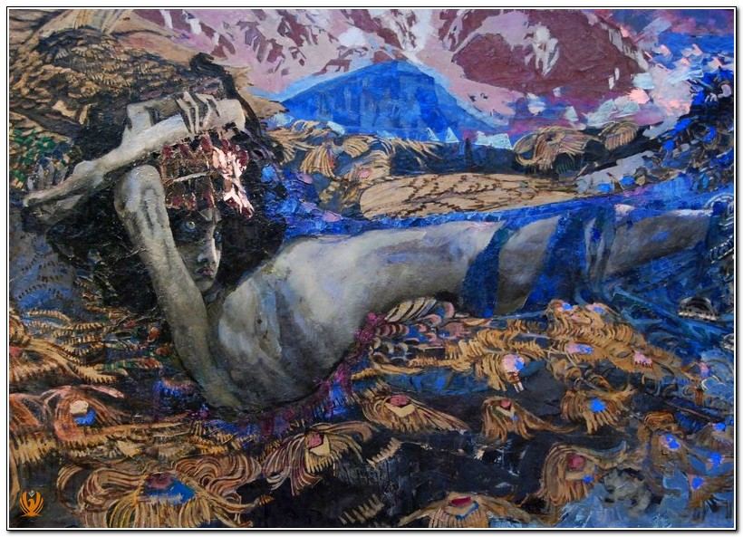Mikhail Vrubel -Demon Overthrown 2