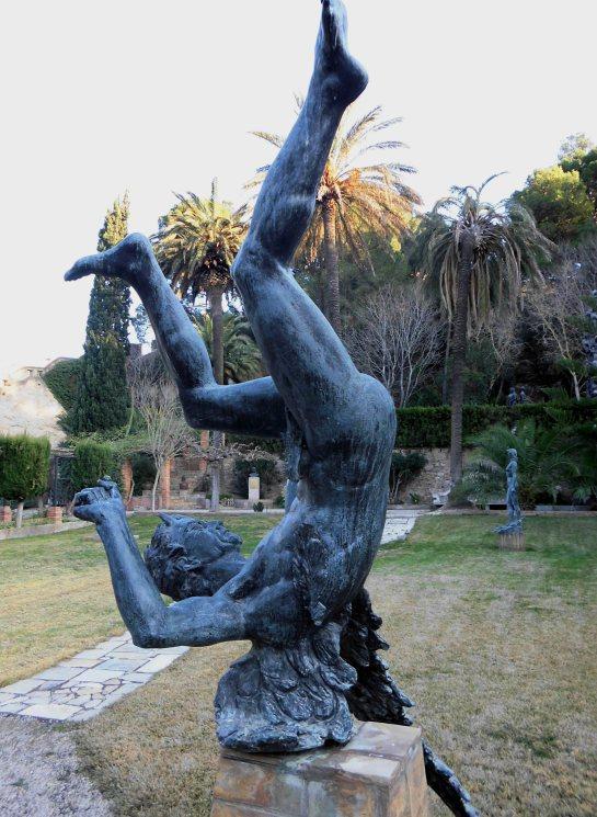 RB_Santiago de Santiago- Escultura de Luzbel o àngel caigut