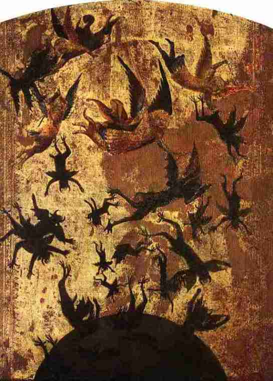 The Fall of the Rebel Angels, Anonymous s. XIV