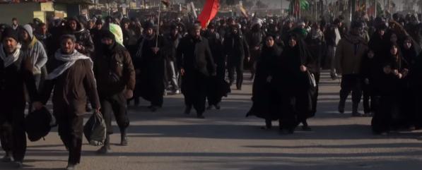 Najaf Karbala walk (5)