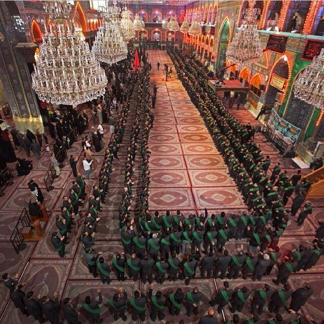 The servants of Imam Hussein