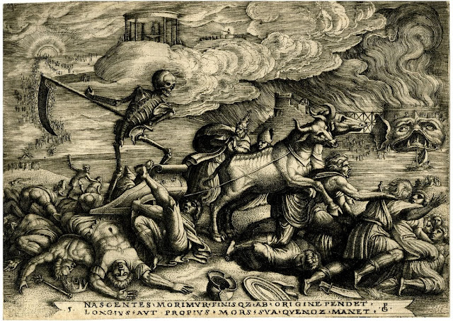 Georg Pencz -Triumph of dead 1539