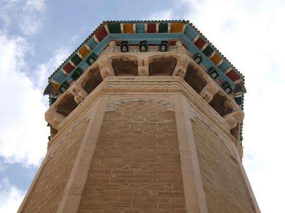 Minaret mosquée des Teinturiers Tunis