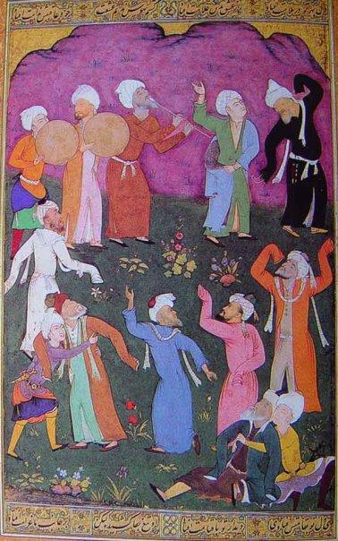 Miniatura persa -Vers la música a l'èxtasi