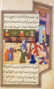 The ecstatic dance Manuscrit de Chirâz -Iran Dansa extàtica 1581