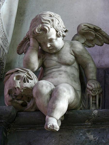 Blasset weeping angel