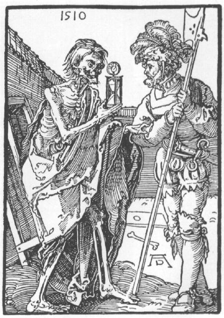 Durer -Death and the mercenary