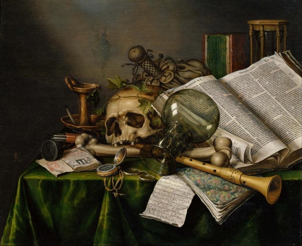 Edward Collier -Vanitas 1663