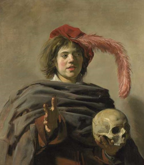 Frans Hals -Youth with a Skull National Gallery