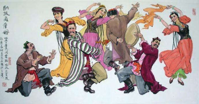 Ghazi Emet -Dance in Turfan