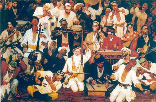 Músics del Turquestan