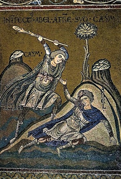 Cain and Abel -Monreale Cathedral, Sicily
