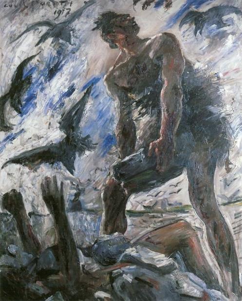 Lovis Corinth, Cain, 1917