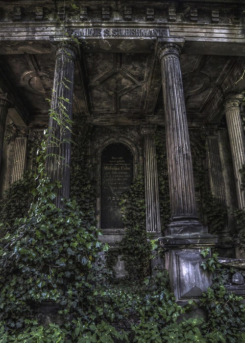 Jewish necropolis in Poland