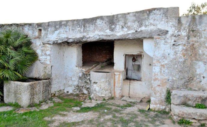 Aljibe en el mas de Fontàn -Rosell Baix Maestrat