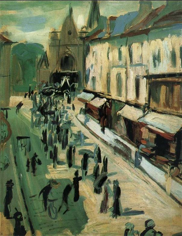 Derain -Funeral 1899