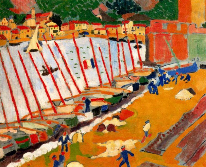 Derain. Raval de Cotlliure, 1905