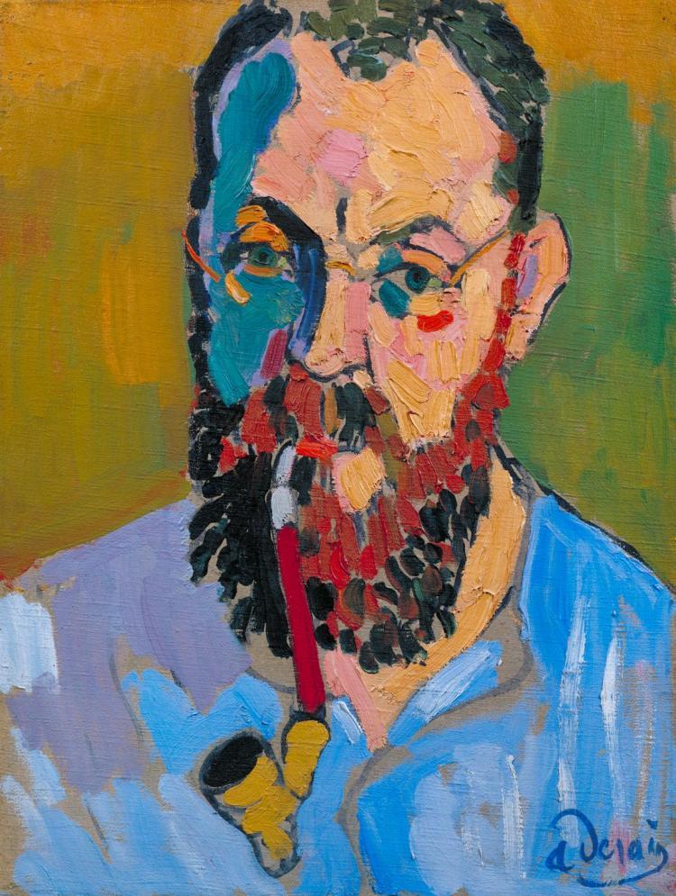 Henri Matisse 1905 by Andr? Derain 1880-1954