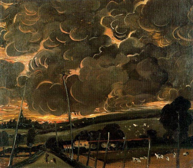 Derain -Sorrowful landscape 1946
