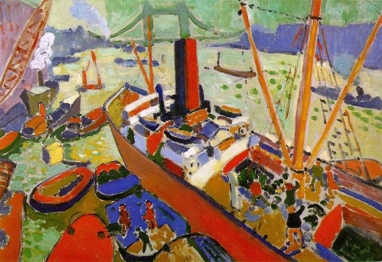 Derain -The basin of London 1906