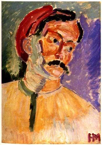 Matisse -Retrat de Derain
