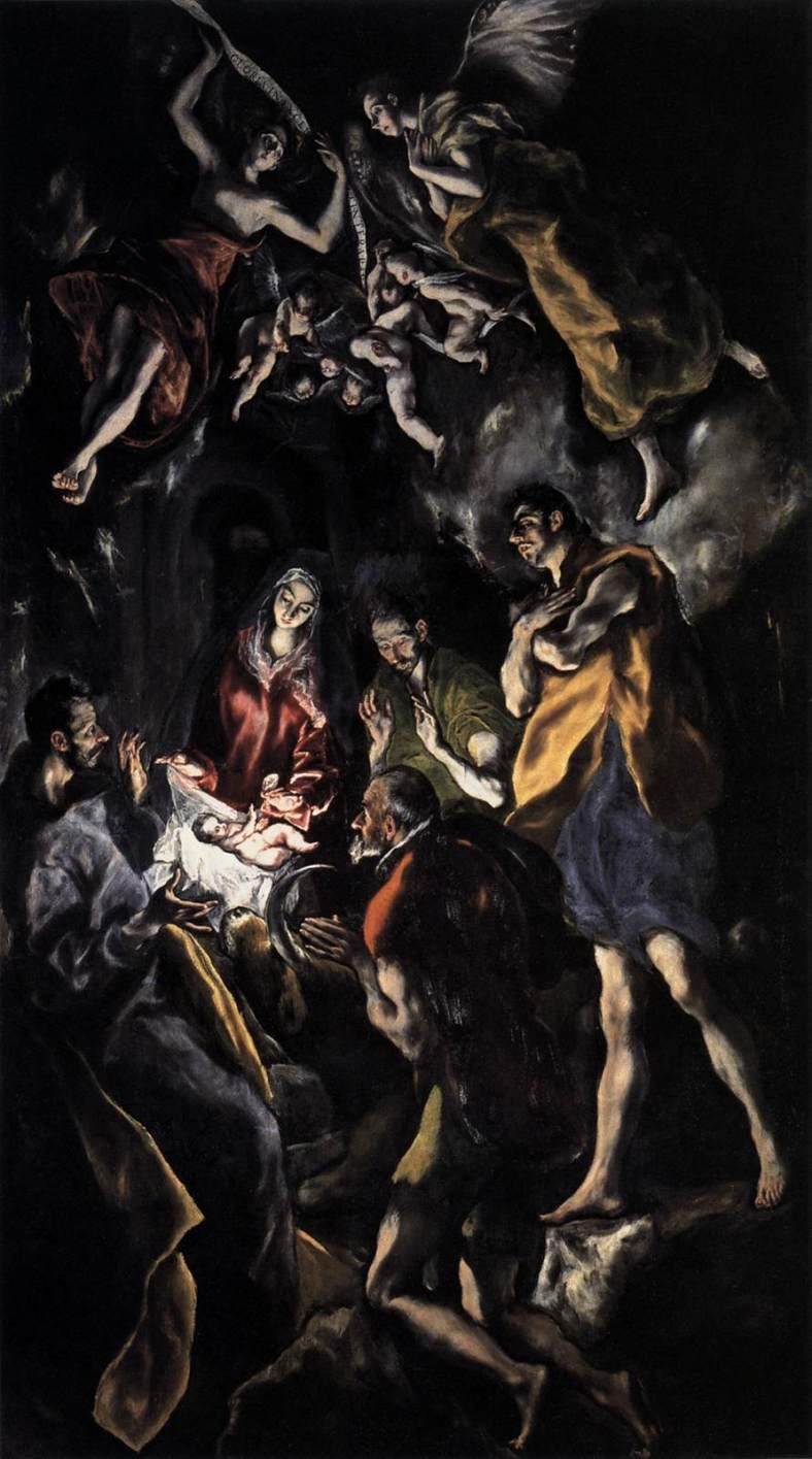 El Greco -La adoración de los pastores -1614