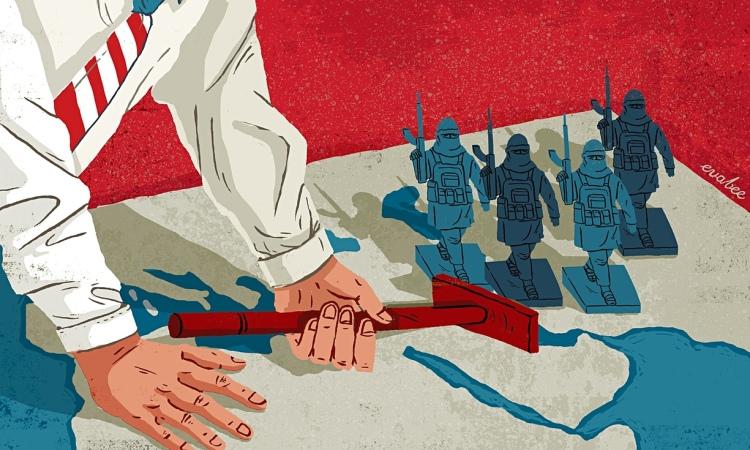 Eva-Bee-illustration ISIS -USA