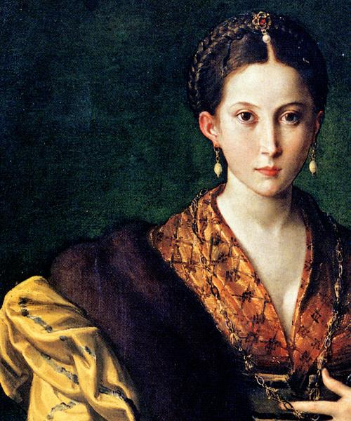 Parmigianino-Portrait of a Young Lady (Antea) Museo di Capodimonte
