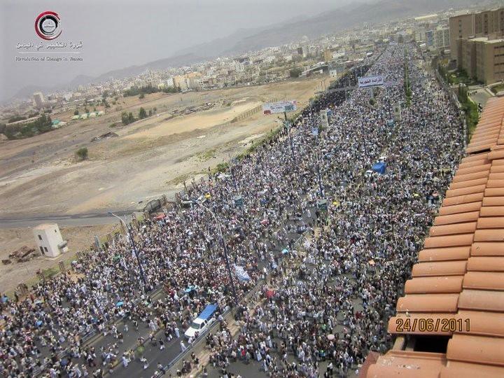 Revoltes a Iemen